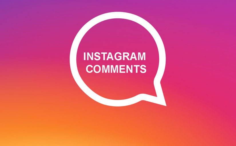 Instagram Comments Dropped