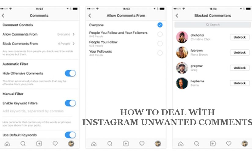 Instagram Comments and Spamming