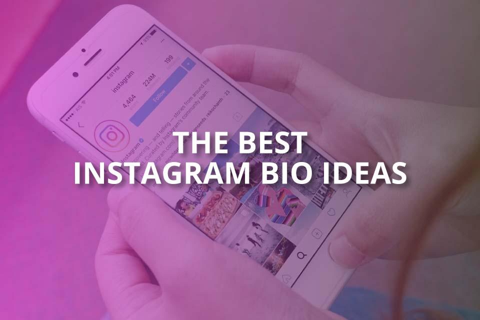 the best instagram bio ideas