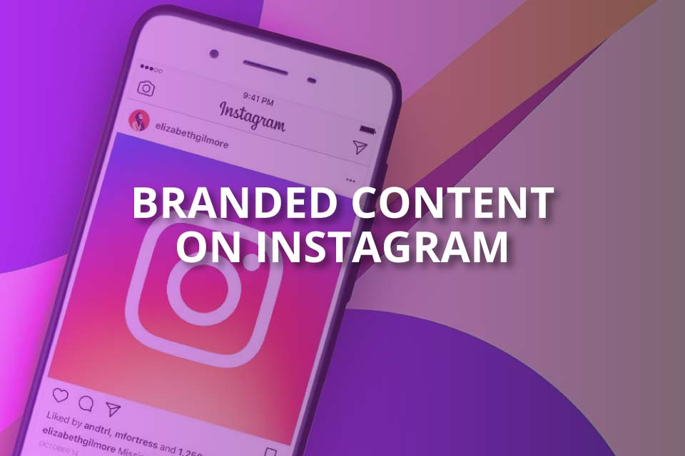 branded content on instagram